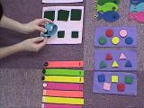 2才3才 幼児教室 セサミクラブ【布の教具】
