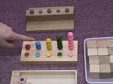 3才4才 幼児教室 セサミクラブ【積木の教具】